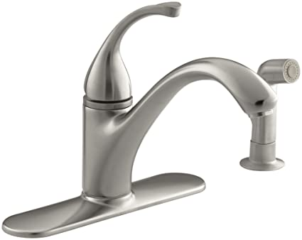 KOHLER 10412-VS Forté(R) 4-Hole Sink 9-1/16\