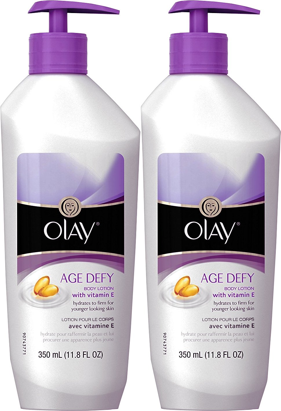 Olay Age Defy Body Lotion Ultra Moisture, 11.80 oz, 2 Pack