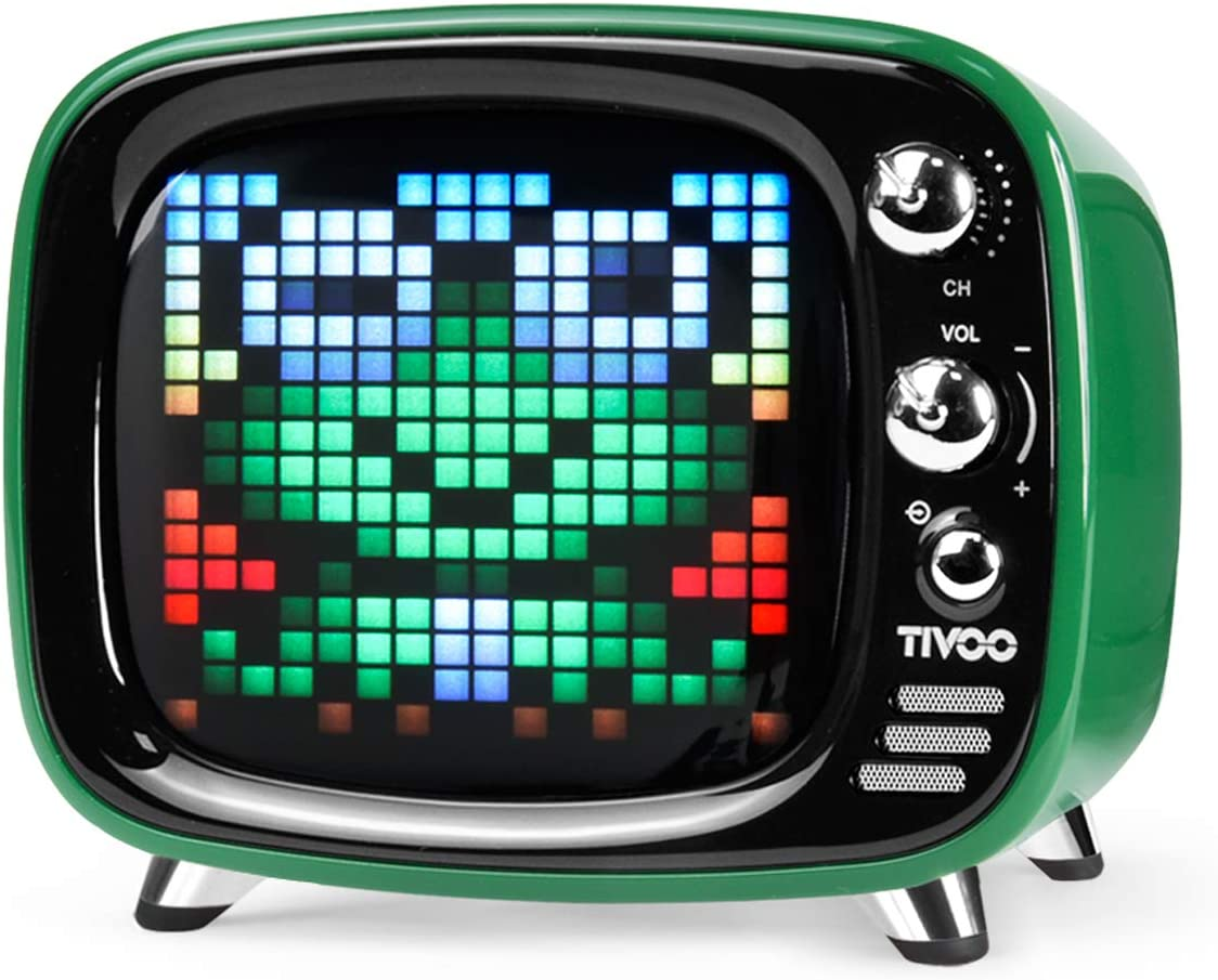 Divoom Tivoo Smart Pixel-Art Bluetooth Speaker (England Green)