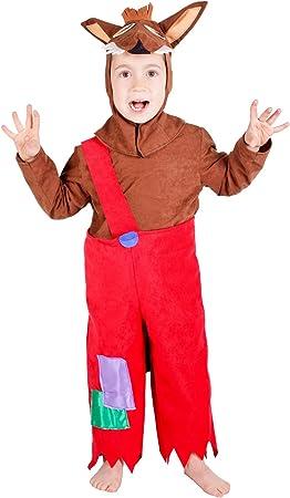 Disfraz de lobo para niño - 5-7 años: Amazon.es: Juguetes y juegos