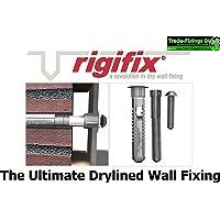 Rigifix - Juego de 6 fijaciones de pared