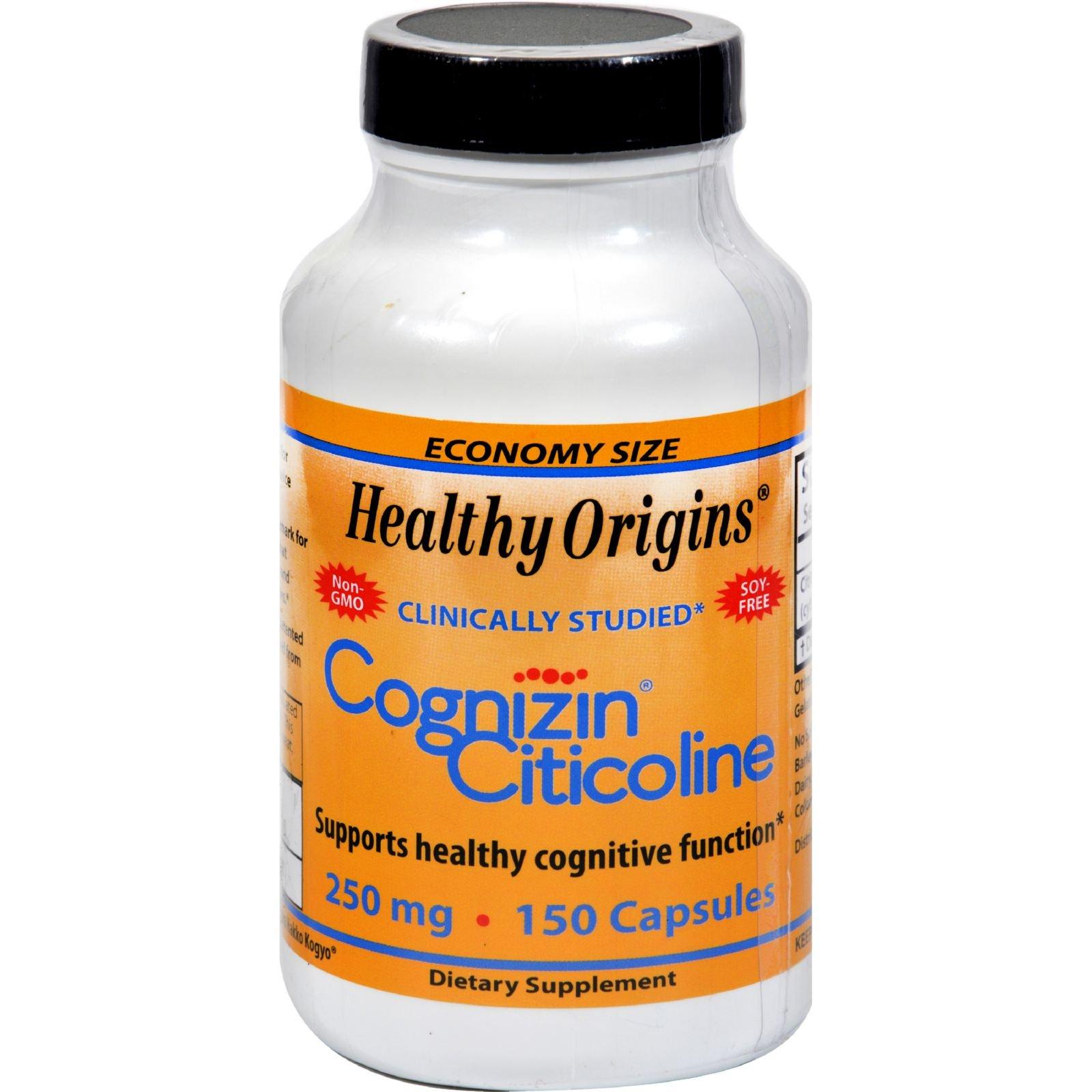 HEALTHY ORIGINS COGNIZIN(CITICOLINE)250MG, 150 CAP