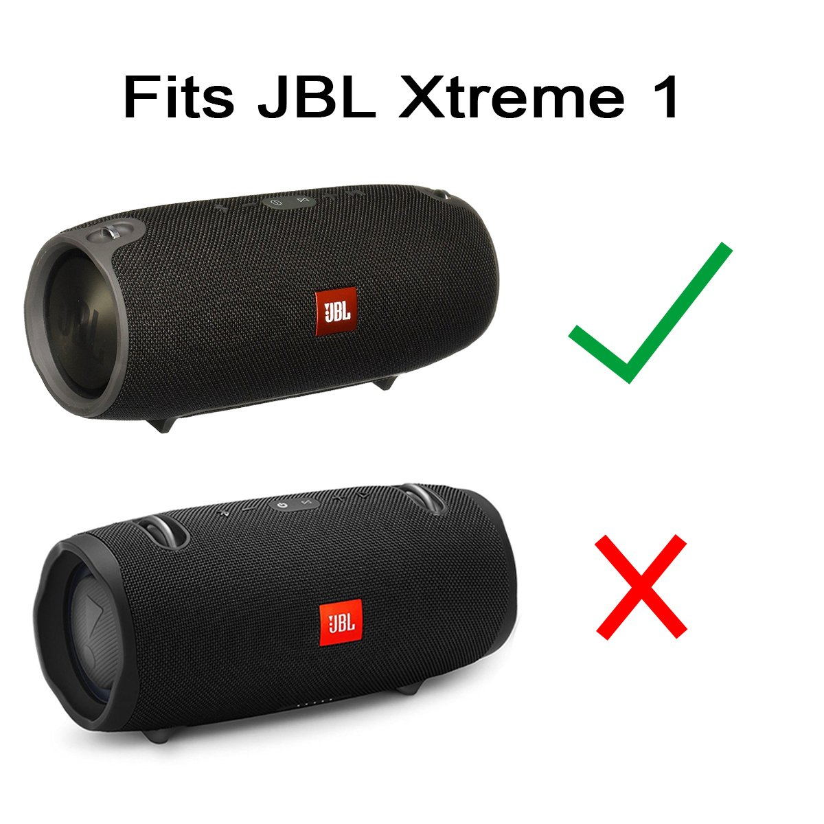 Travel Case For Jbl Xtreme Portable Wireless Bluetooth Speaker Fits Black Power And Adapter By Co2crea Only 1 Hard Pf Bpr7 1z2t Mp3