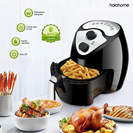 Amazon.com: Hot Oilless Electric Air Fryer - Large Best ...