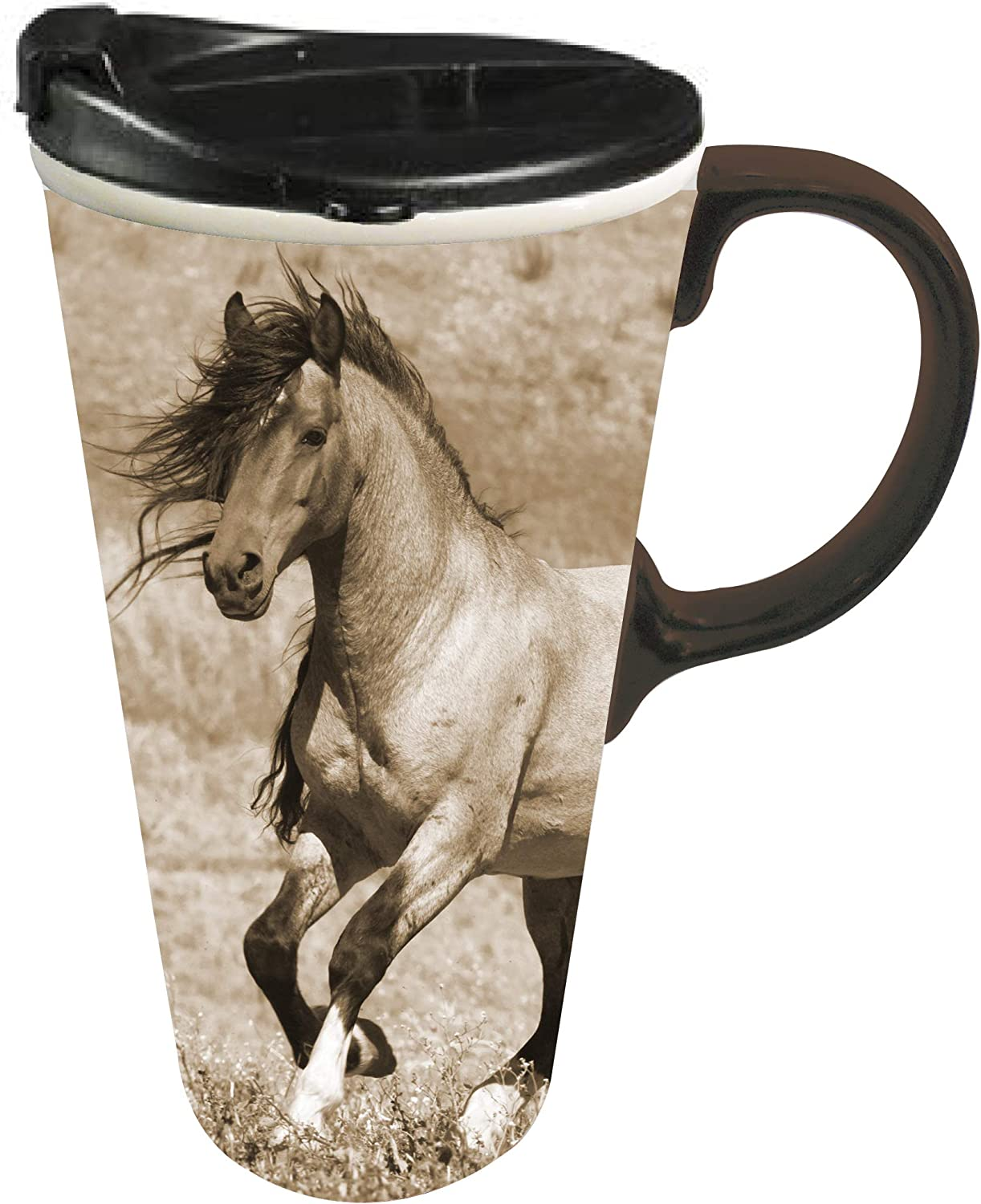 Cypress Home Travel Mug for Horse and Animal Lovers,