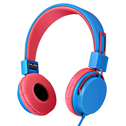 Earphones & Headphones Kids Headphones Wired Toddler Headset Mic 85db Volume Limiting Stereo Foldable Children Tv Tablets Laptops Babies Boys Girls Complete In Specifications