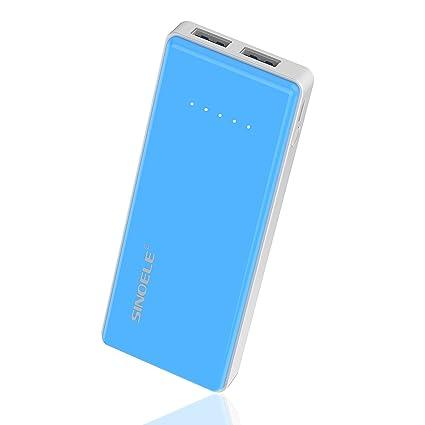 Amazon.com: Sinoele banco de la energía 8000 mAh batería ...