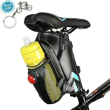 Bicicleta impermeable bolsa, West bicicleta sillín de bicicleta ...