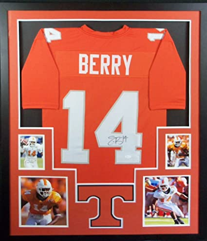 innovative design f26c8 8f4a6 Eric Berry Tennessee Volunteers Autograph Signed Custom ...