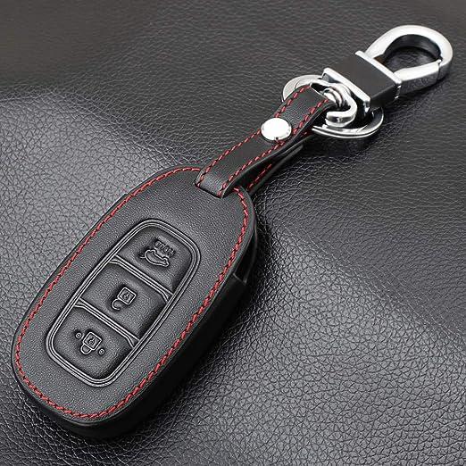 BYSDSG para Funda de Cuero para Llave de Coche para Hyundai ...