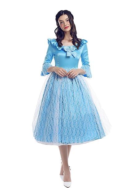 Principessa Retro Vintage Vestito Nspstt Pizzo Medievale Donna Cqx1xtnA