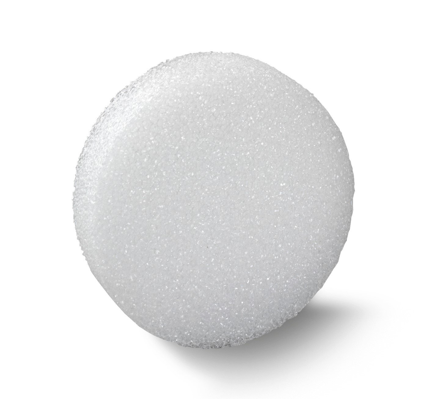 FloraCraft D7125WS/36 Styrofoam Discs, 7-Inch-by-1/2-Inch-by-1 1/4-Inch Disc, White