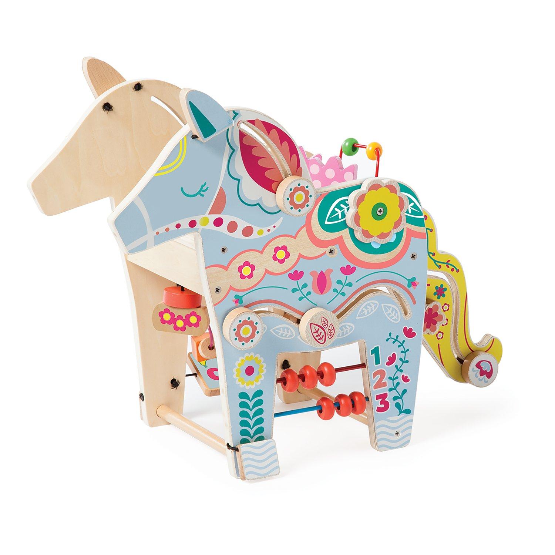 Manhattan Toy Playful Pony Wooden Toddler Activity Center 213880