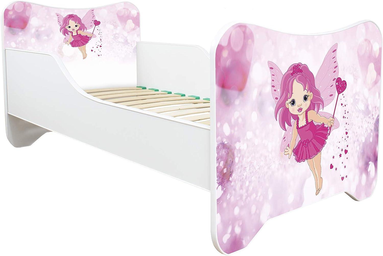 Toddler Children Kids Bed Including Mattress! Pony 30 Designs 140x70 New !!