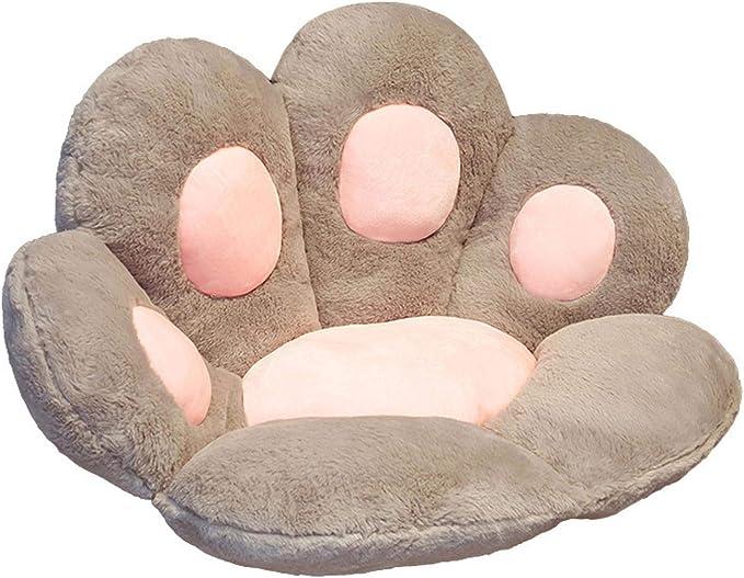 Cute Seat Cushion,Cat Paw Shape Lazy Sofa Office Seat Cushion for ...