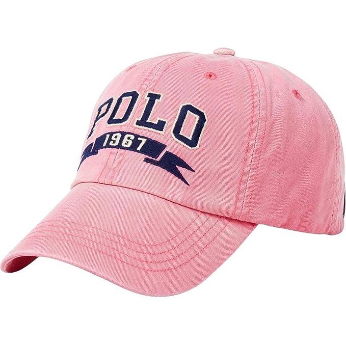 Polo Ralph Lauren - Gorra de béisbol de algodón Chino - Rosado ...
