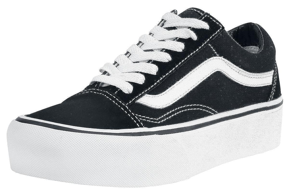 Vans Old Skool Platform, Zapatillas de Entrenamiento para Mujer: Amazon.es: Zapatos y complementos