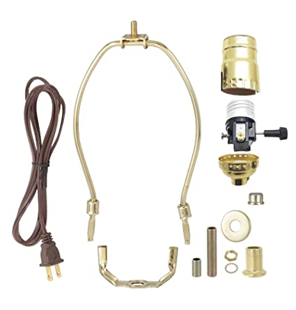 Fantastic Bp Lamp Brass Plated Finish Table Lamp Wiring Kit With 9 Inch Harp Wiring Cloud Xeiraioscosaoduqqnet