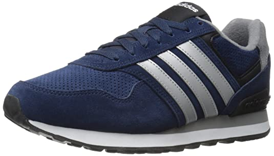 huge selection of 6edd6 7d314 adidas Performance Men s Runeo 10K Running Shoe, Collegiate Navy Matte  Silver Black, 7 M US  Amazon.co.uk  Shoes   Bags