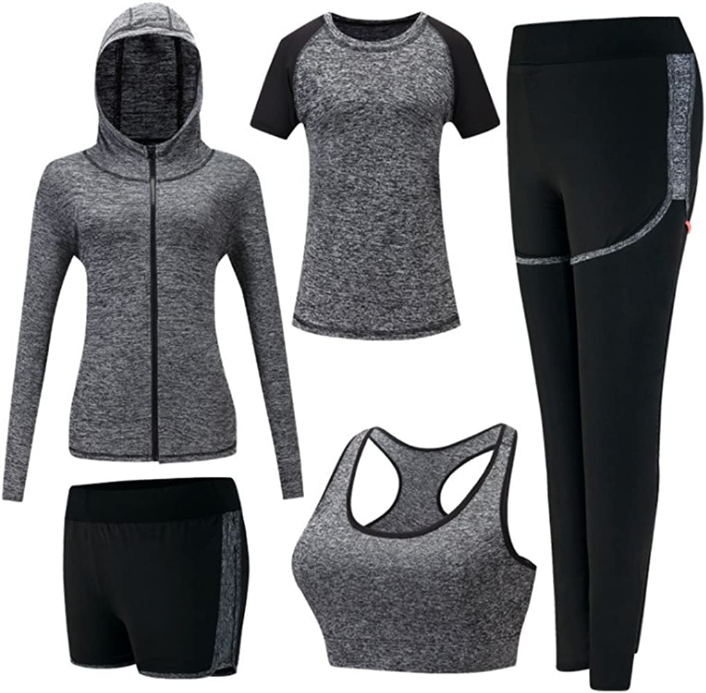 Conjunto Deportivo para Mujer, Running Jogging Chándal Gym Fitness ...