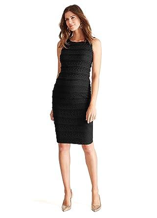 c2a39782a9970 Ingrid & Isabel Women's Maternity Sleeveless Lace Dress at Amazon Women's  Clothing store:
