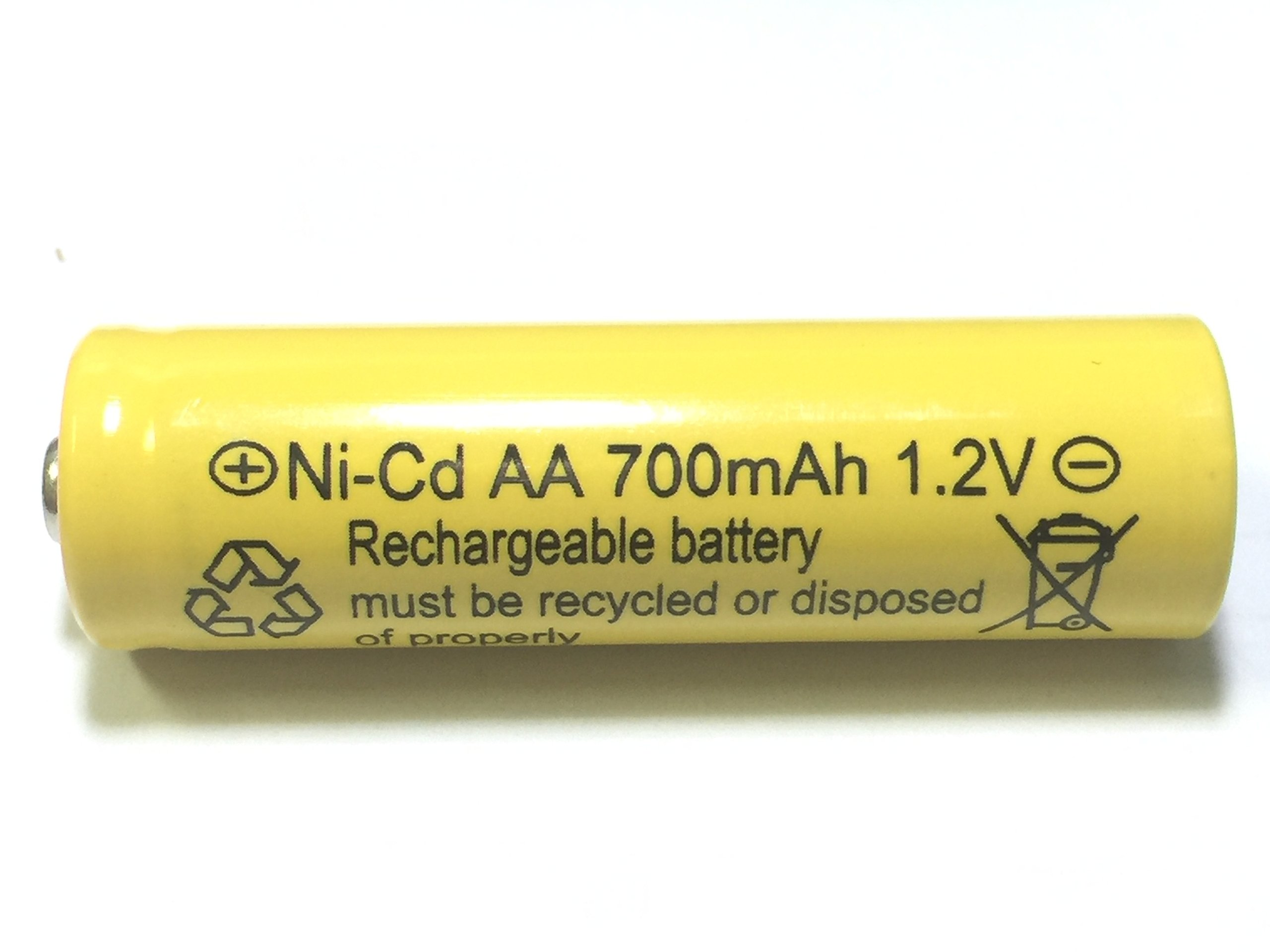 700mah AA NiCd 1.2v Rechargeable Batteries Garden Solar Ni-Cd Light LED S (Pack of 20)