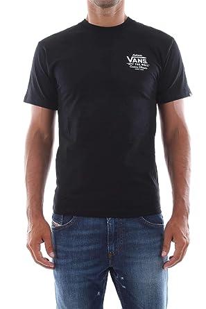 e48544791 Vans Holder St Classic T-shirt -Fall 2018- Black: Amazon.co.uk: Clothing