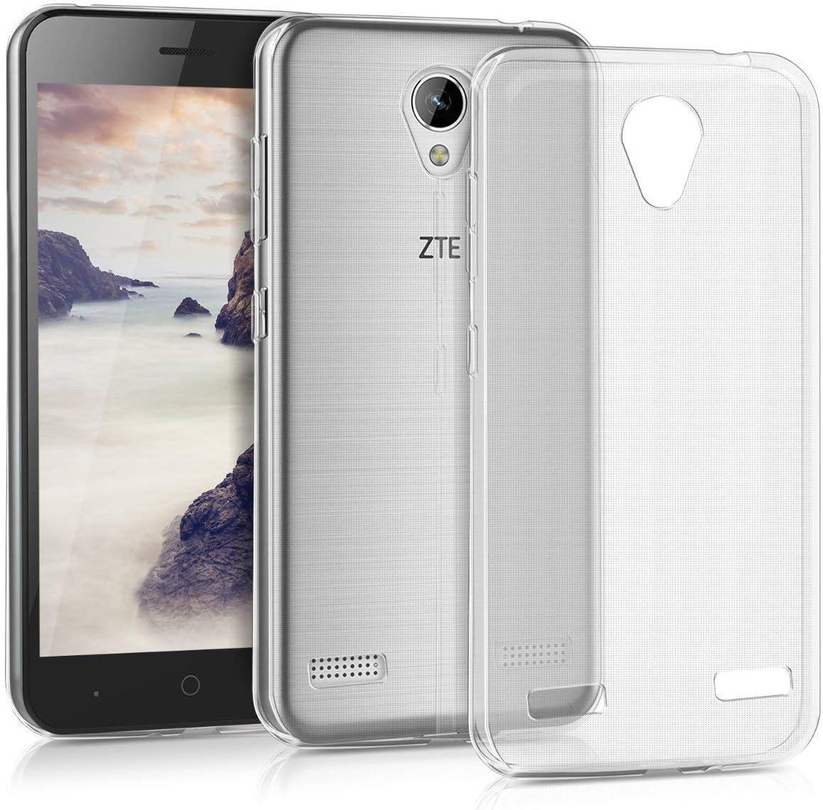 MB ACCESORIOS Funda Silicona Transparente para ZTE Blade A520: Amazon.es: Electrónica