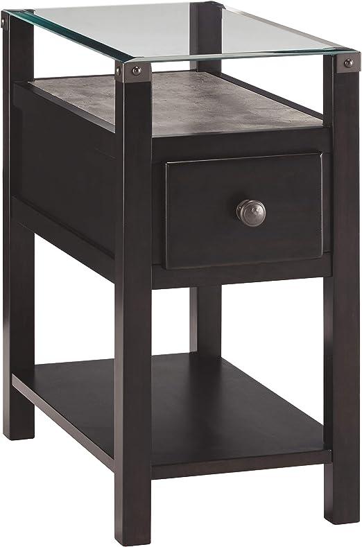 Amazon Com Signature Design By Ashley Diamenton Chair Side End