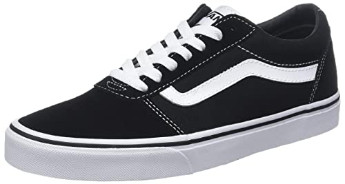 Vans Men s Ward Suede Canvas Low-Top Sneakers  Amazon.co.uk  Shoes ... 06798bf6b
