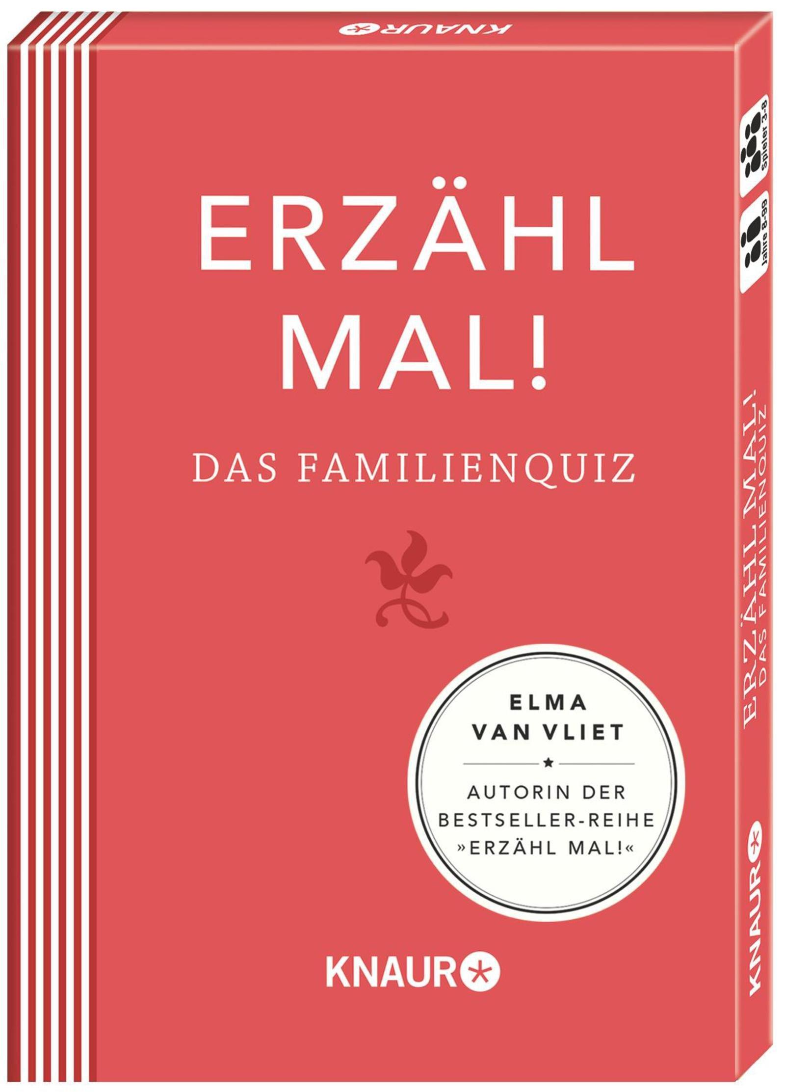 Erzähl mal! Das Familienquiz | Elma van Vliet Spielzeug – 1. Oktober 2014 Ilka Heinemann Matthias Kuhlemann Knaur HC B00L3RWW5A