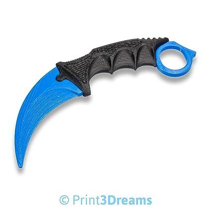 Compra 3D impresa Nuevo diseño Karambit de cuchillo réplica ...