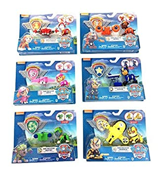 Amazon.com: Nick Jr Paw Patrol Air Rescue Pack Pup Action Figure ...