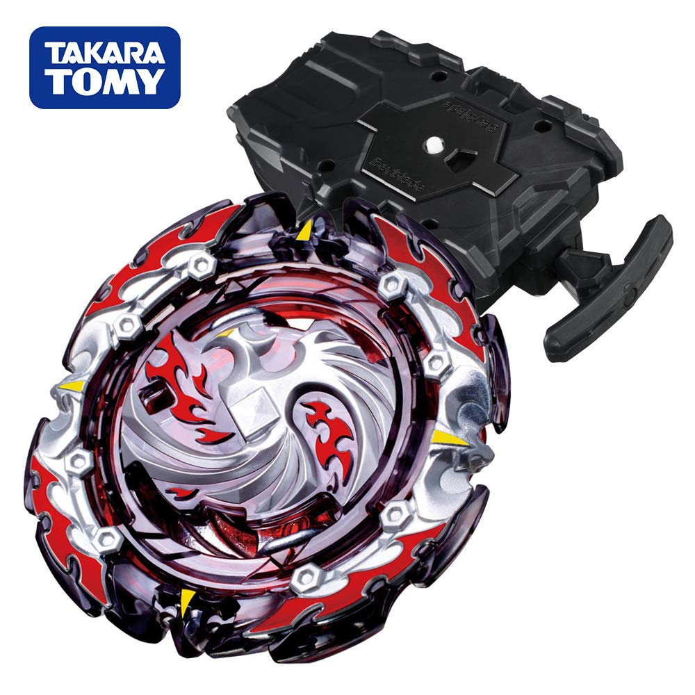 Beyblade Burst Chouzetsu Booster B-131 Dead Phoenix.0.at. Beyblades Stater Set with B-78 Bey String Launcher Black High Performance Battling Top