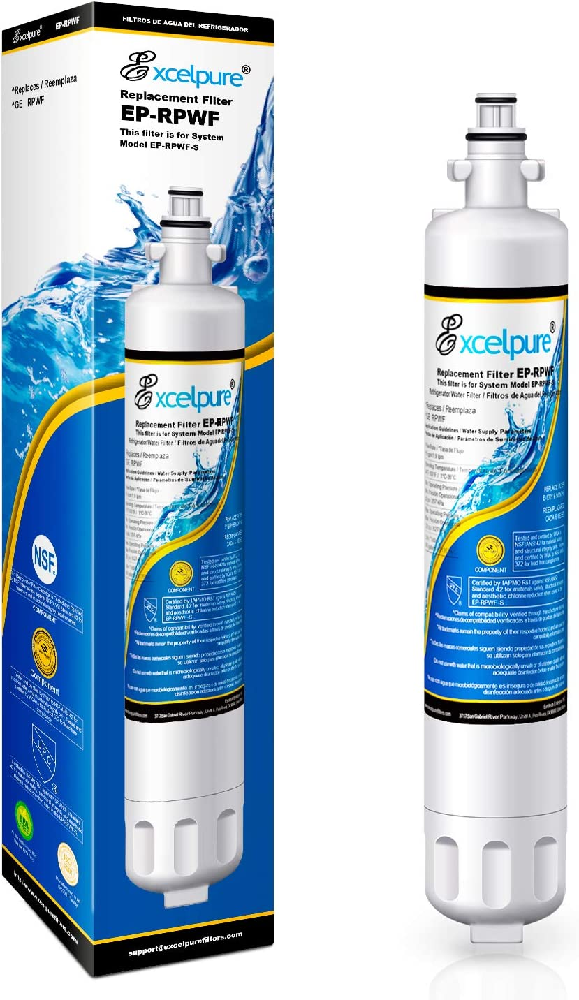 Compatible with GE RPWF Pack of 2 NSF 401/&53/&42 Certified Waterdrop Plus RPWF Refrigerator Water Filter RWF1063 DWF-36 Packing May Vary R-3600 MPF15350 RWF3600A OPFG3-RF300 WSG-4