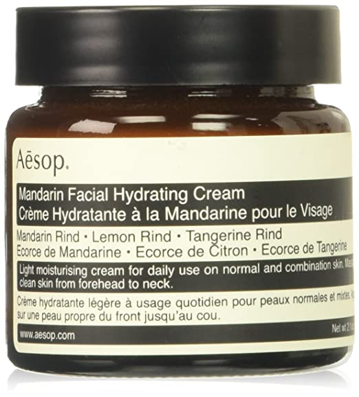 AESOP Mandarin Facial Hydrating Cream 2.01 Ounce