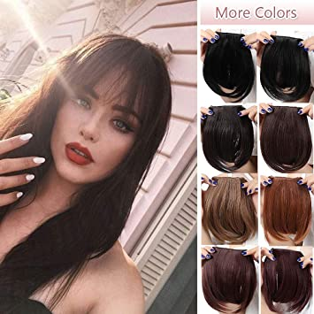 Fashion Clip In Bangs Extensions Front Full