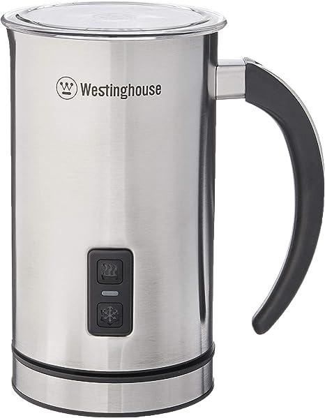 Westinghouse WMF008 Espumador de leche con botón de encendido y apagado automático, acero inoxidable: Amazon.es: Hogar