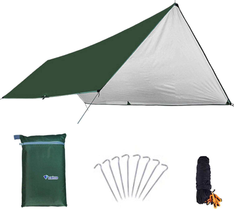 FREE SOLDIER Toldo de Acampada y Deportes al Aire Libre Impermeable Portable Multifuncional para Viajar Tienda de campa/ña Toldo Refugio Parasol Toldo