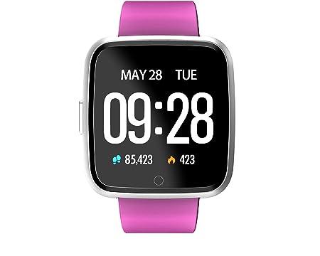 TDOR Black Friday 2019 Smartwatch Whatsapp Mujer Android GPS Música, Reloj Deportivo, Color Morado