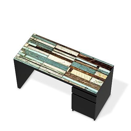 Muebles-Aufkleber Folie para IKEA malm mesa escritorio ...