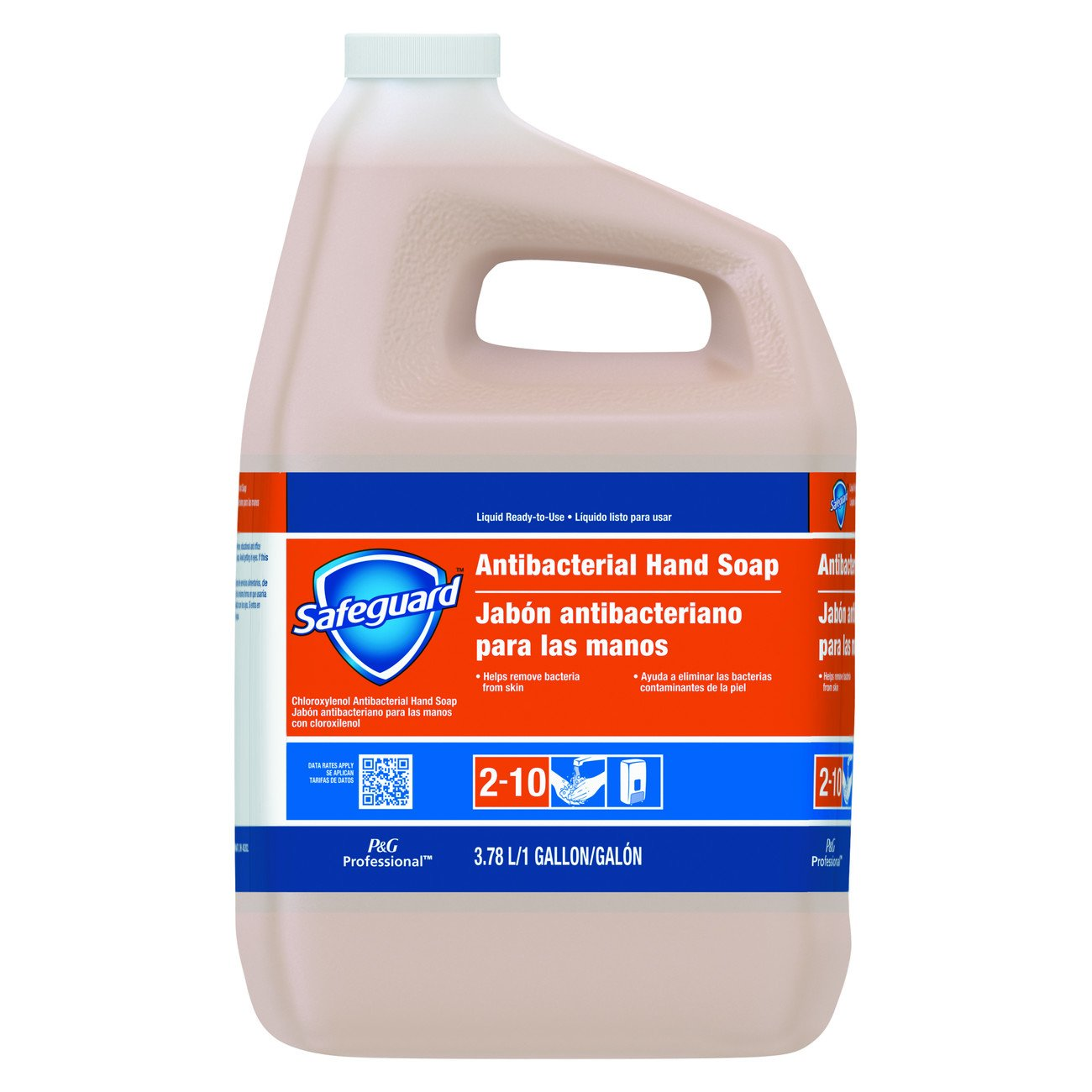 Safeguard 02699 Antibacterial Liquid Hand Soap, 1 Gallon (Case of 2)