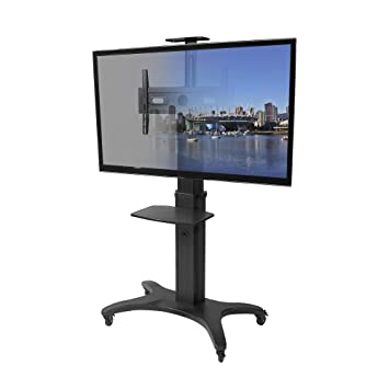Amazon Com Kanto Mtma70pl Mobile Tv Stand For 40 70 Inch Flat