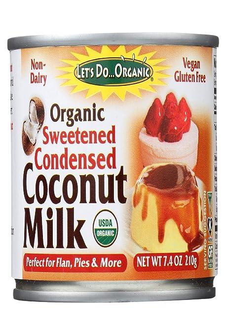 Flan de coco y leche condensada