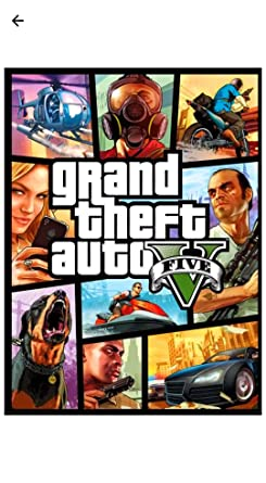 GTA 5 original game (offline play) only: Amazon in: Video Games