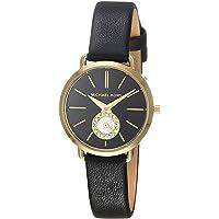 Michael Kors Dames analoog kwarts horloge met lederen armband MK2750