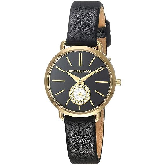 76aae21d97de4 Michael Kors Reloj Analógico para Mujer de Cuarzo con Correa en Cuero  MK2750  Amazon.es  Relojes
