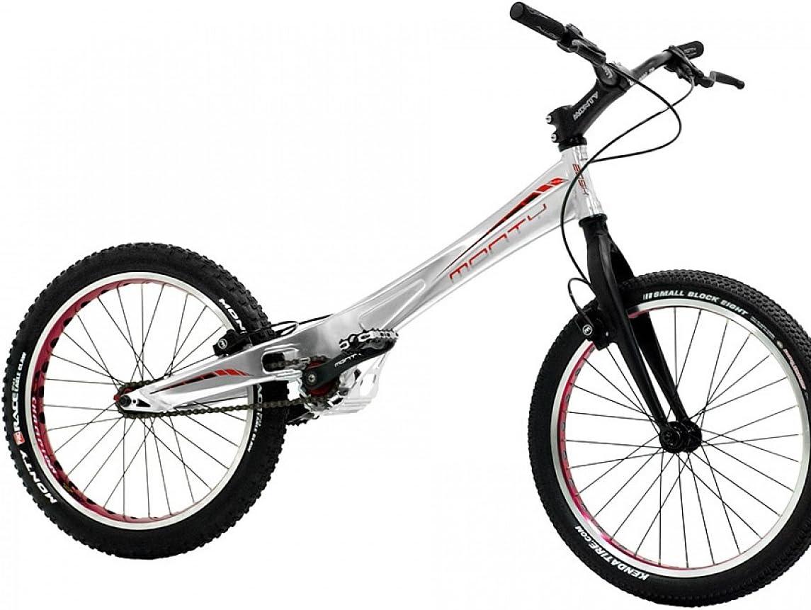 Monty 209K - Bicicleta de Trial para niño, Color Negro/Plateado ...
