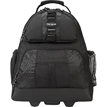 Targus 15-15.4 inch / 38.1-39.1cm Rolling Laptop Backpack - Mochila para