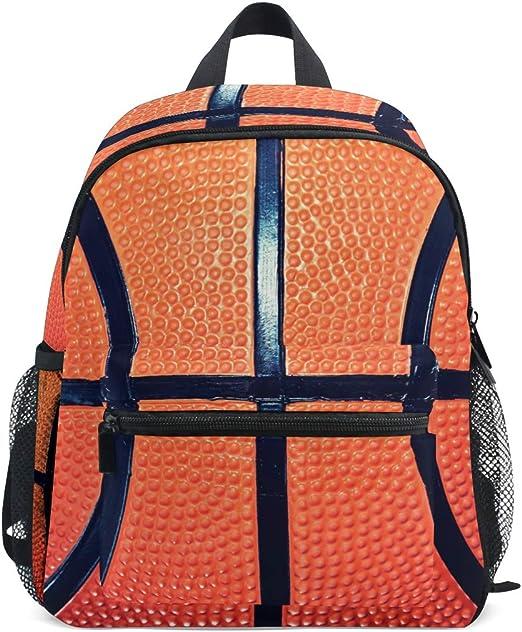 DOSHINE Mochila para niños, diseño de balón de Baloncesto, para ...